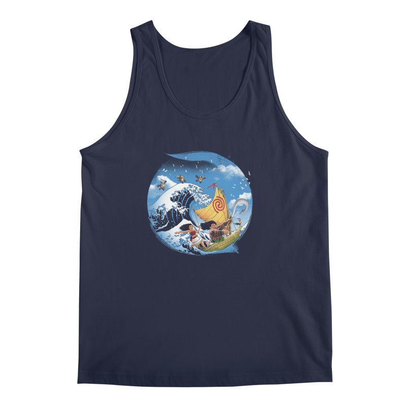 A Tropical Journey Men's Tank by vincenttrinidad's Artist Shop