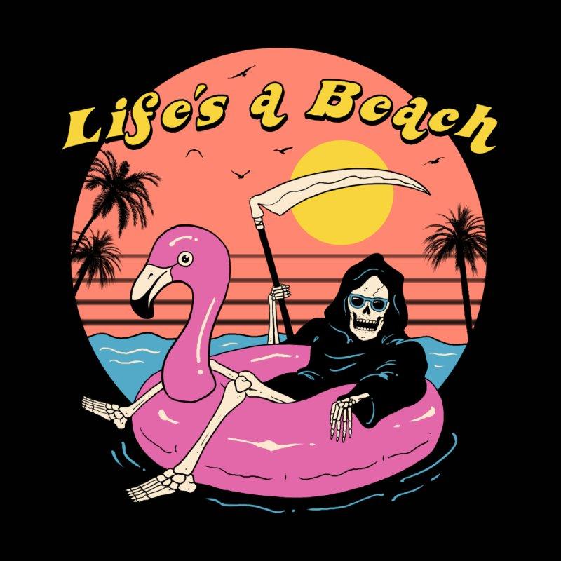 Life's a Beach! Men's T-Shirt by Vincent Trinidad Art