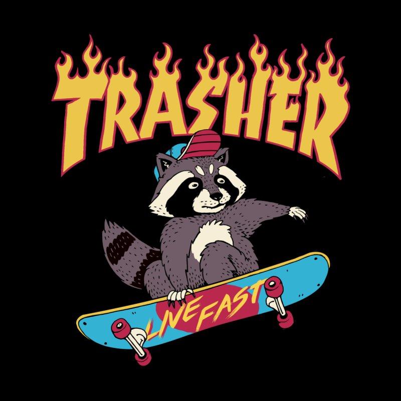 Trasher! Men's T-Shirt by Vincent Trinidad Art