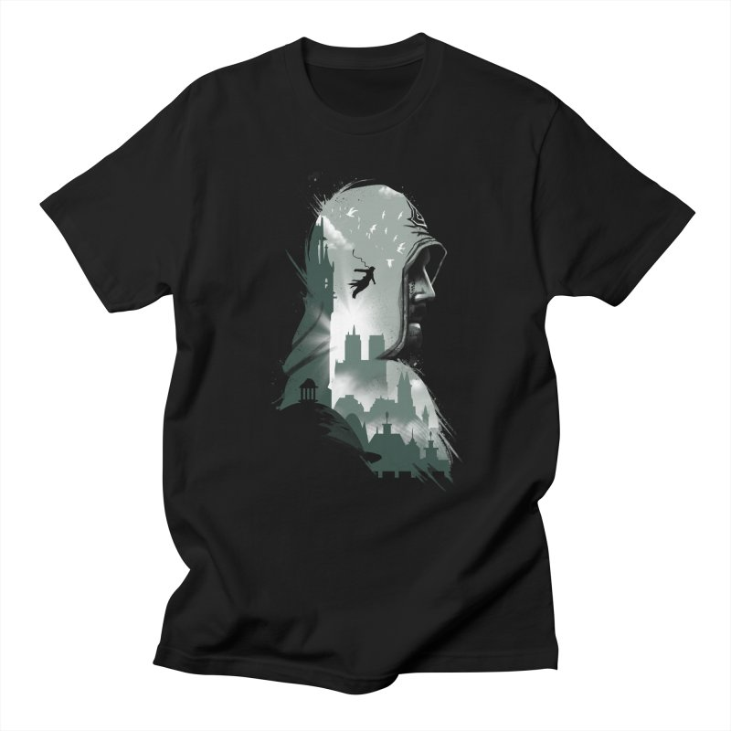 Assassin's Flight Men's T-shirt by vincenttrinidad's Artist Shop