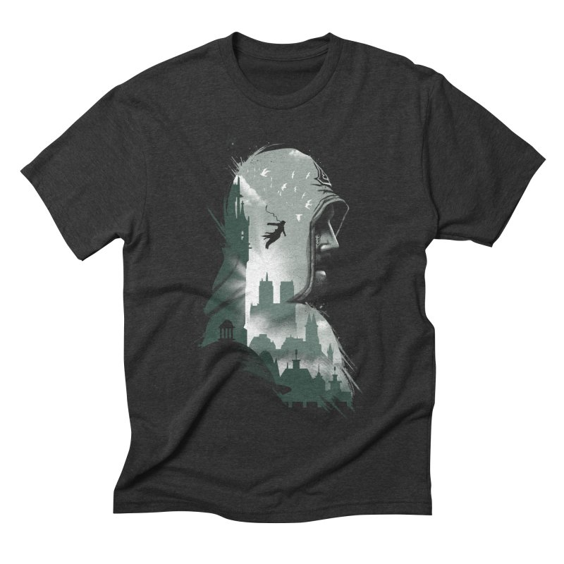 Assassin's Flight Men's Triblend T-shirt by vincenttrinidad's Artist Shop
