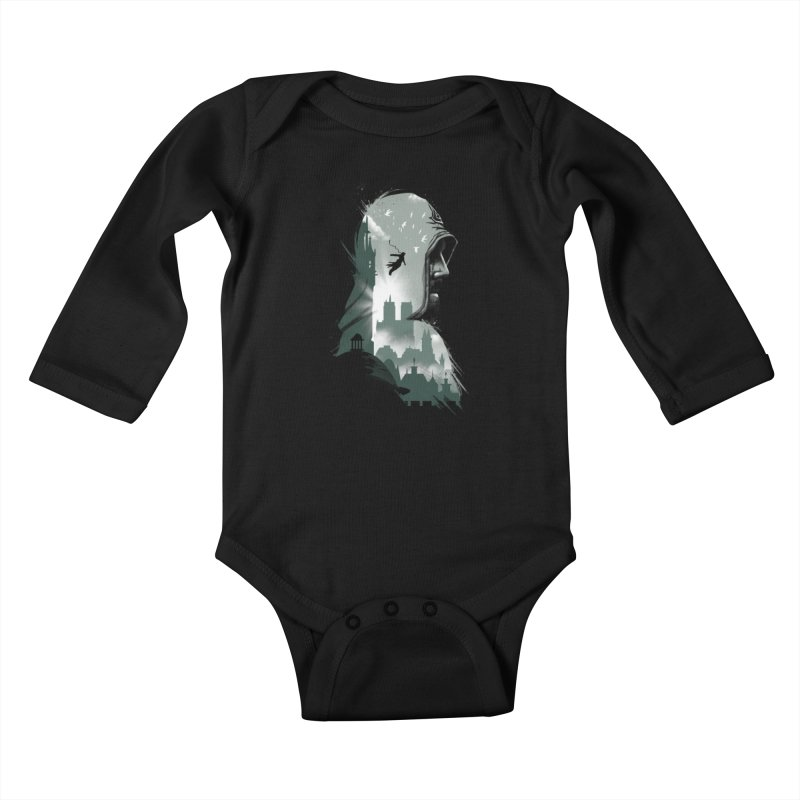 Assassin's Flight Kids Baby Longsleeve Bodysuit by vincenttrinidad's Artist Shop
