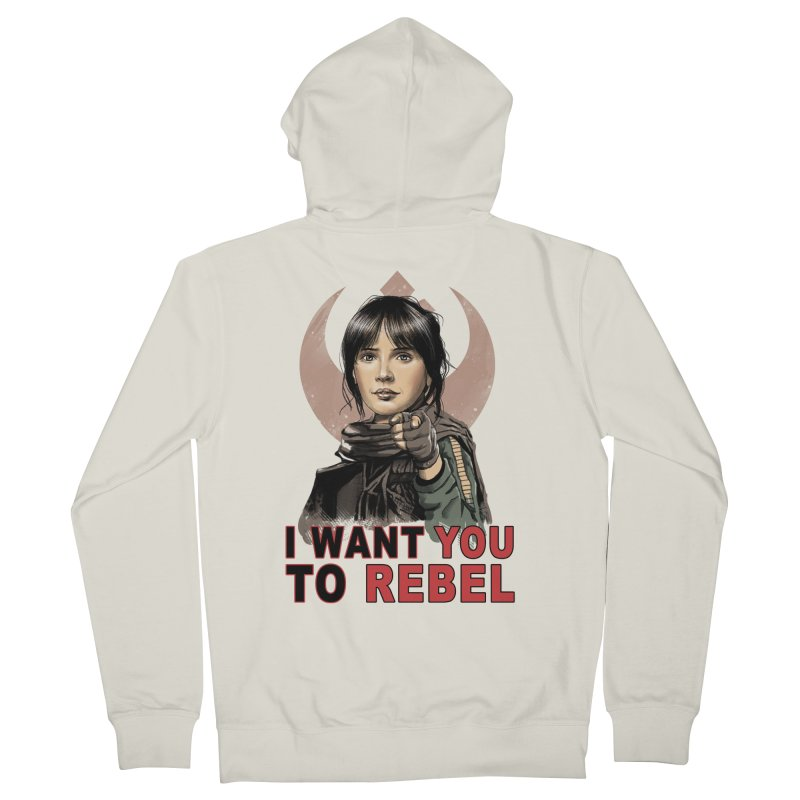 I Want You To Rebel Women's Zip-Up Hoody by vincenttrinidad's Artist Shop
