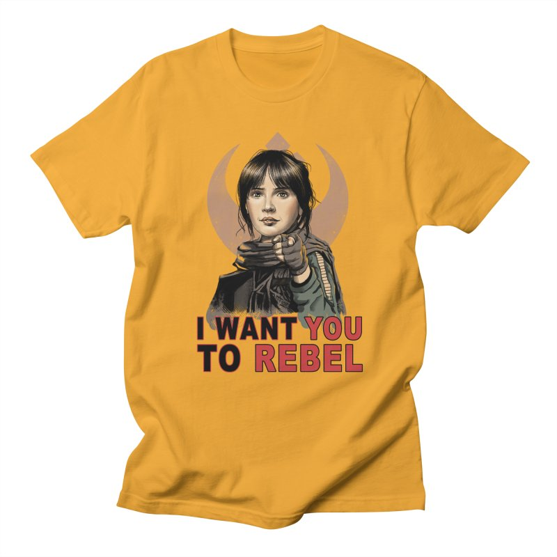 I Want You To Rebel Women's Unisex T-Shirt by vincenttrinidad's Artist Shop