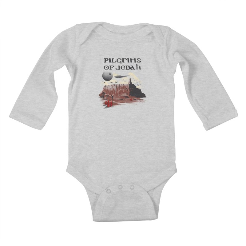The Pilgrimage Kids Baby Longsleeve Bodysuit by vincenttrinidad's Artist Shop