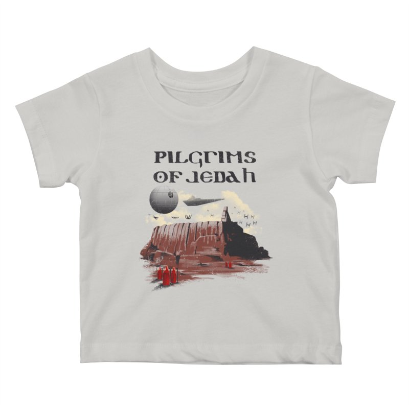 The Pilgrimage Kids Baby T-Shirt by vincenttrinidad's Artist Shop