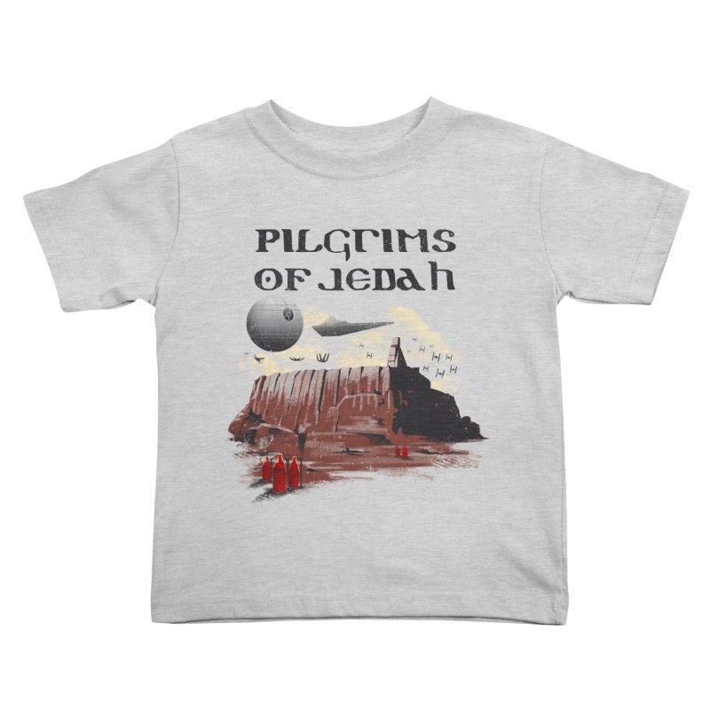 The Pilgrimage Kids Toddler T-Shirt by vincenttrinidad's Artist Shop