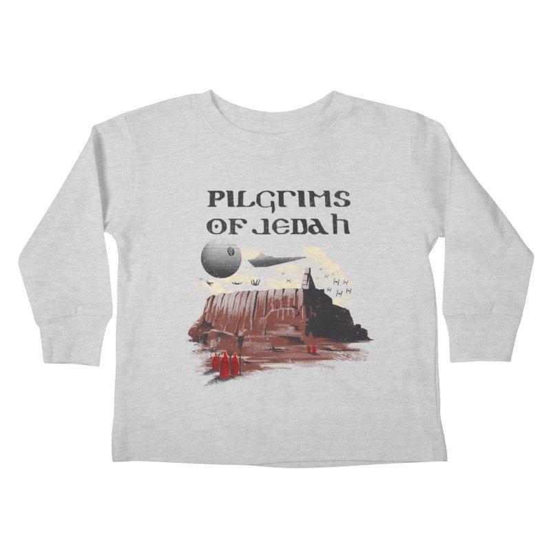 The Pilgrimage Kids Toddler Longsleeve T-Shirt by vincenttrinidad's Artist Shop
