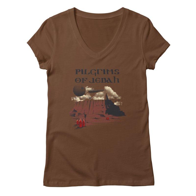 The Pilgrimage Women's V-Neck by vincenttrinidad's Artist Shop