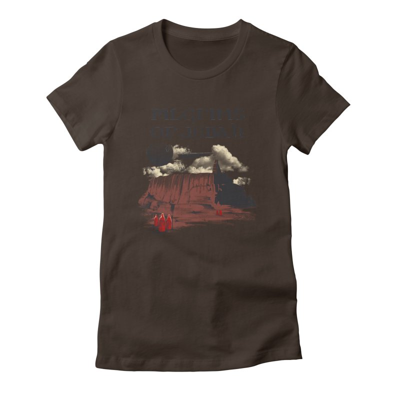 The Pilgrimage Women's Fitted T-Shirt by vincenttrinidad's Artist Shop