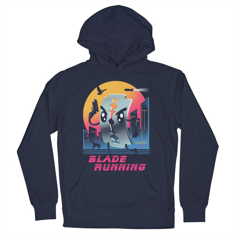 Blade Running Men's Pullover Hoody by vincenttrinidad's Artist Shop