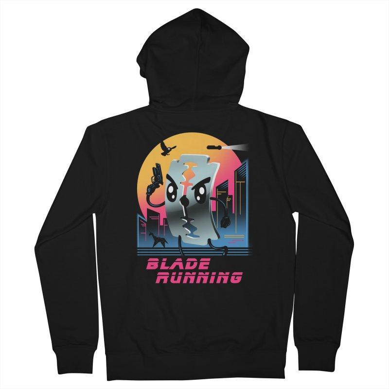 Blade Running Men's Zip-Up Hoody by Vincent Trinidad