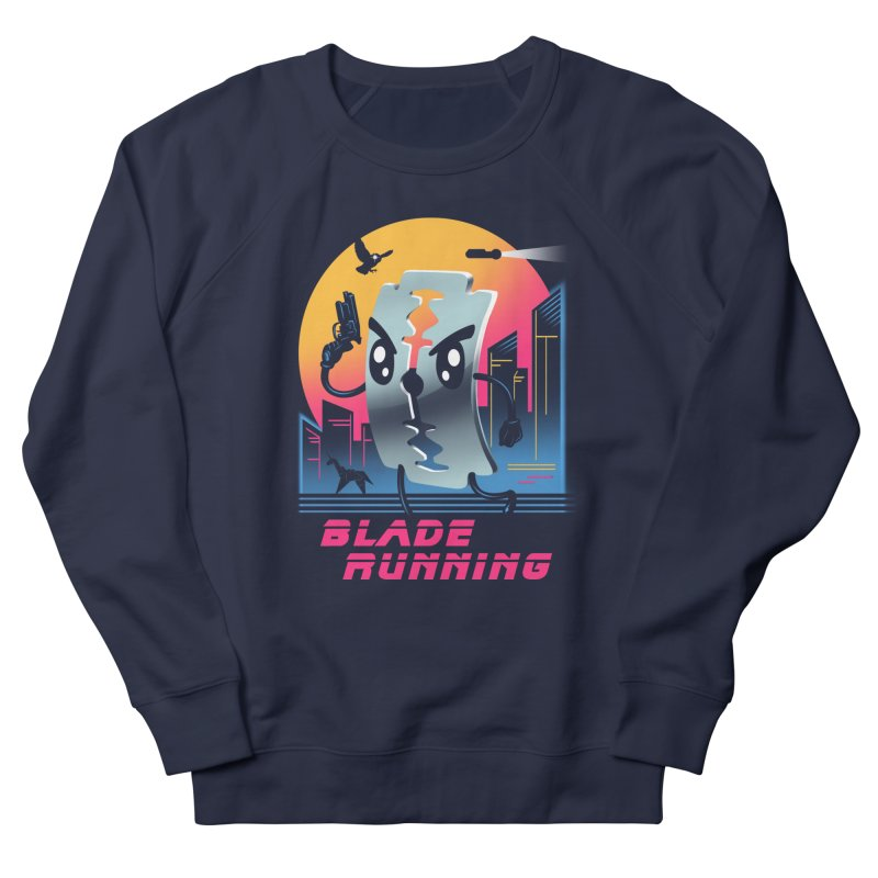 Blade Running Men's Sweatshirt by Vincent Trinidad