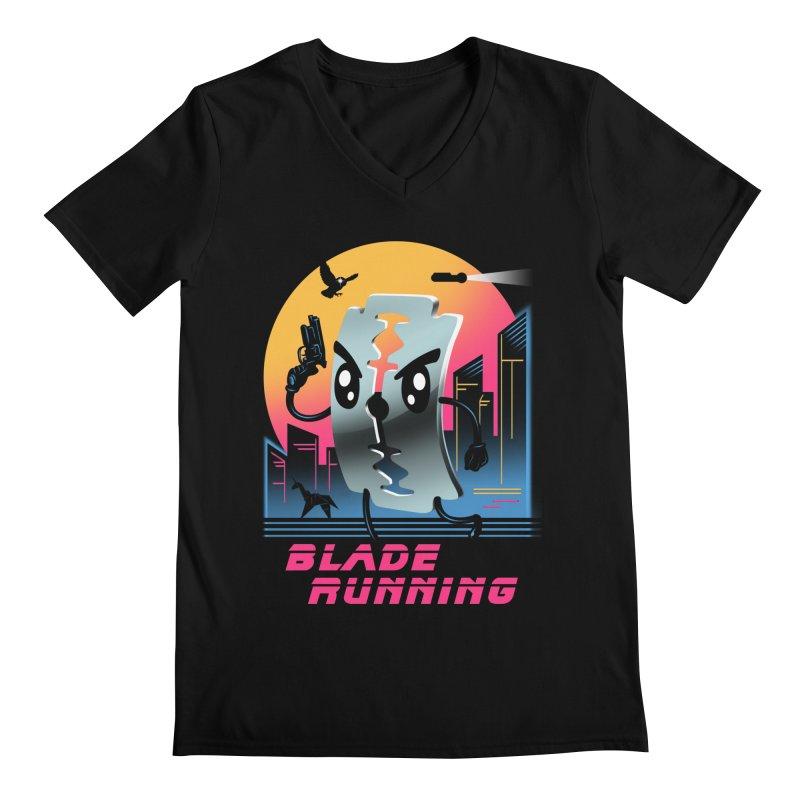 Blade Running Men's V-Neck by vincenttrinidad's Artist Shop