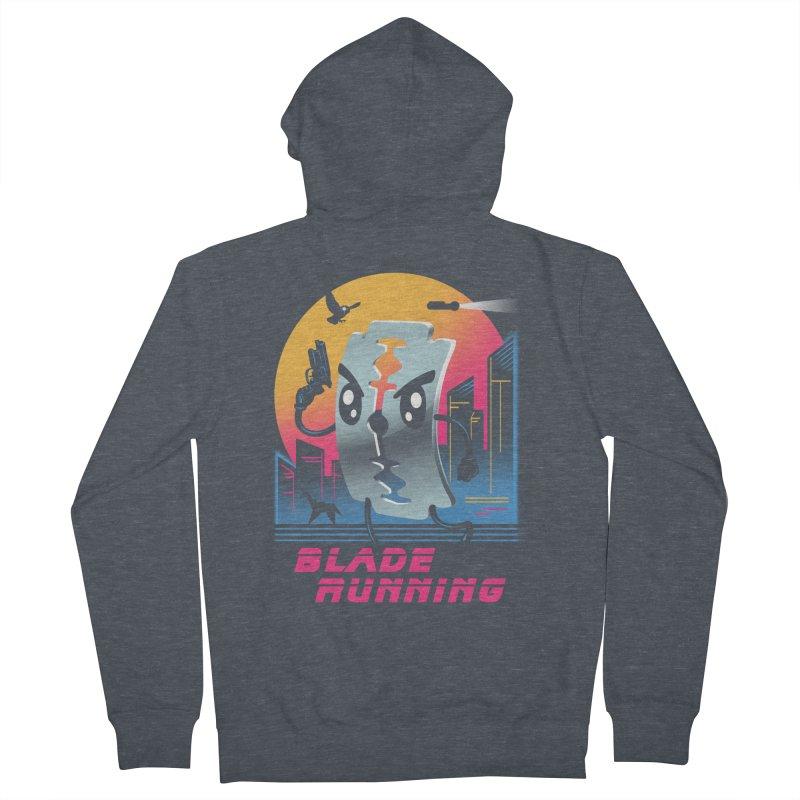 Blade Running Women's Zip-Up Hoody by vincenttrinidad's Artist Shop