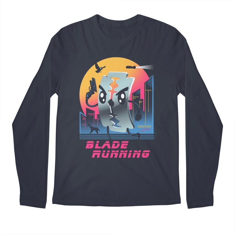 Blade Running Men's Longsleeve T-Shirt by vincenttrinidad's Artist Shop