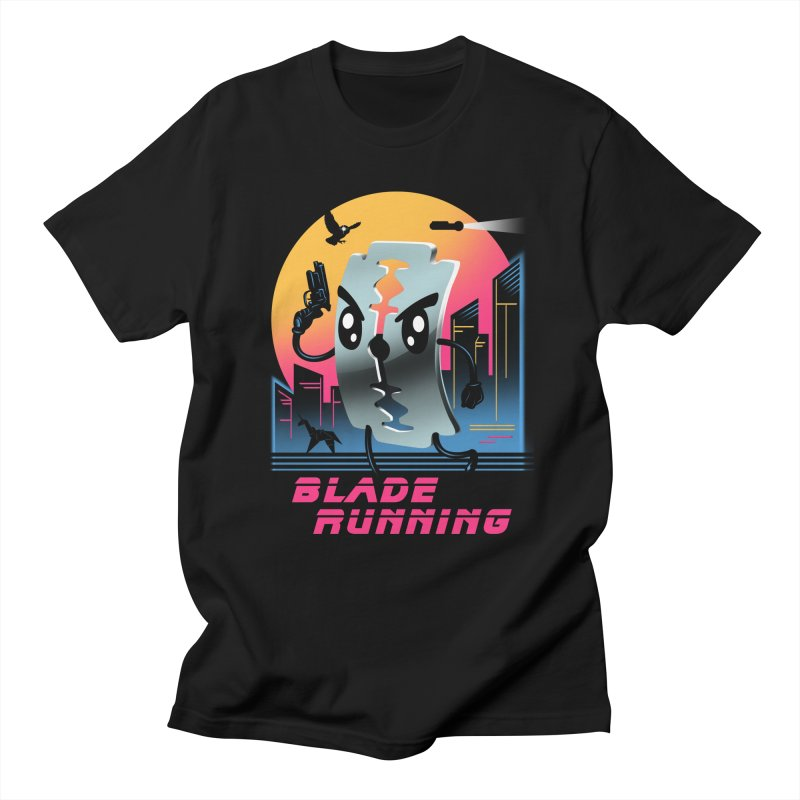 Blade Running Men's T-shirt by vincenttrinidad's Artist Shop