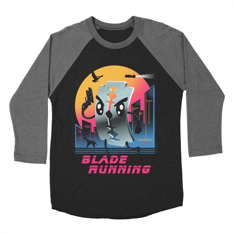 Blade Running Men's Baseball Triblend T-Shirt by vincenttrinidad's Artist Shop