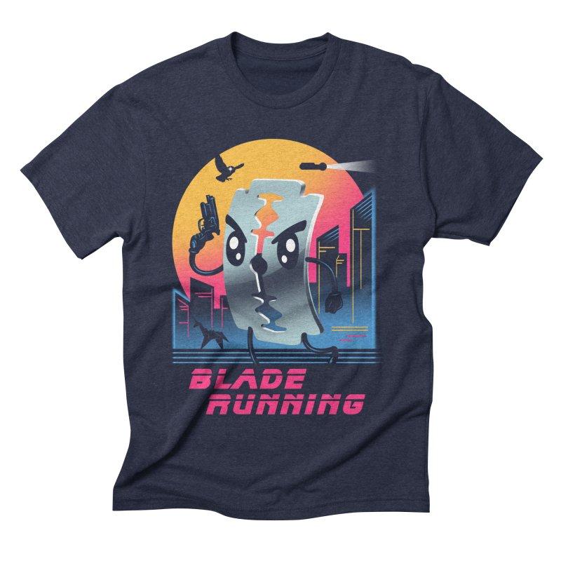 Blade Running Men's Triblend T-shirt by vincenttrinidad's Artist Shop