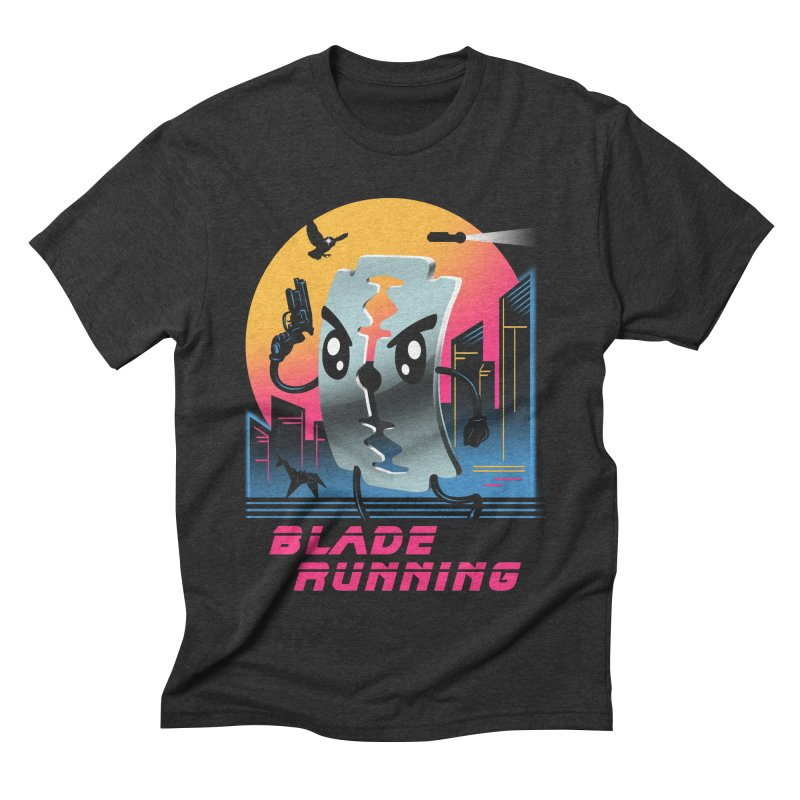Blade Running Men's Triblend T-shirt by vincenttrinidad's Artist Shop