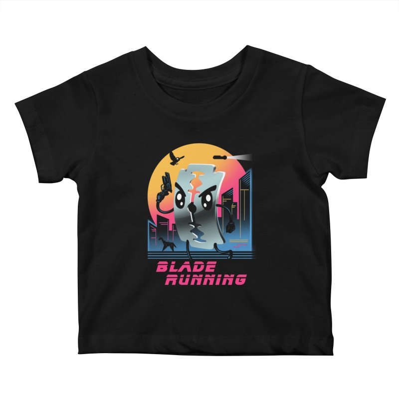Blade Running Kids Baby T-Shirt by vincenttrinidad's Artist Shop