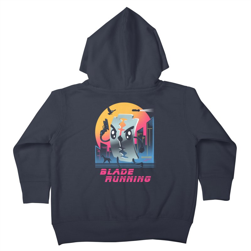 Blade Running Kids Toddler Zip-Up Hoody by vincenttrinidad's Artist Shop