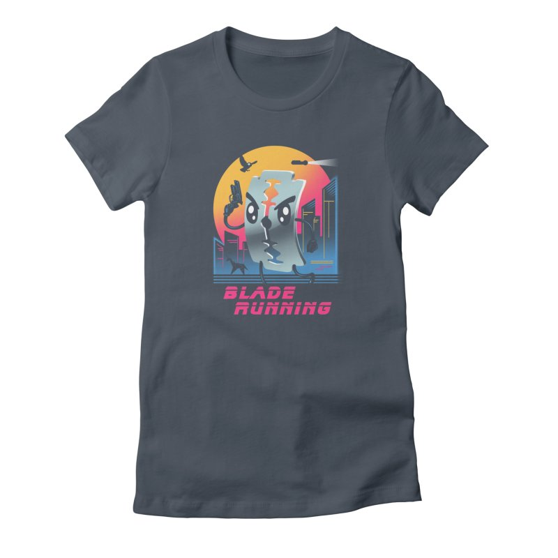 Blade Running Women's T-Shirt by vincenttrinidad's Artist Shop