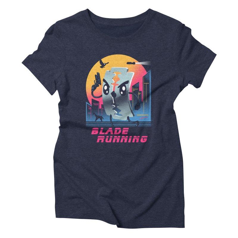 Blade Running Women's Triblend T-shirt by vincenttrinidad's Artist Shop