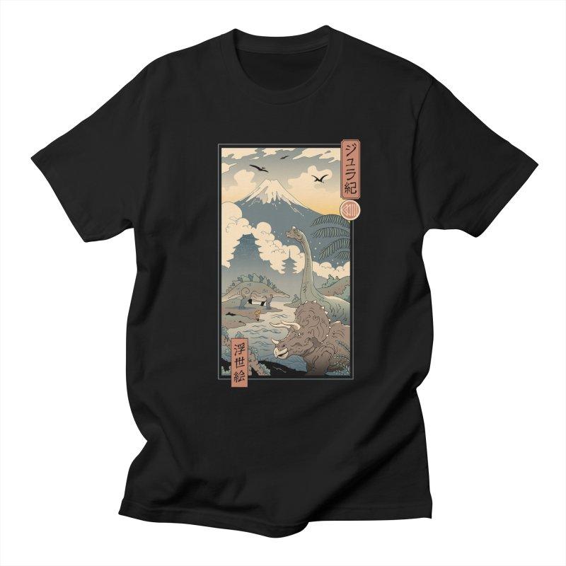 Jurassic Ukiyo-e 1 Men's T-Shirt by Vincent Trinidad Art