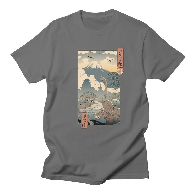 Jurassic Ukiyo-e 1 Women's T-Shirt by Vincent Trinidad Art