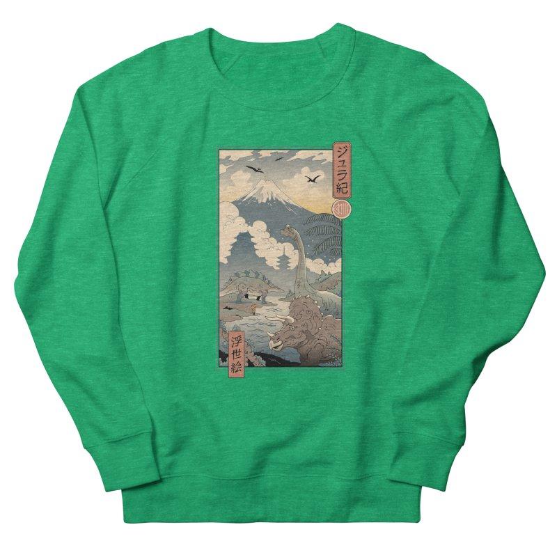 Jurassic Ukiyo-e 1 Women's Sweatshirt by Vincent Trinidad Art