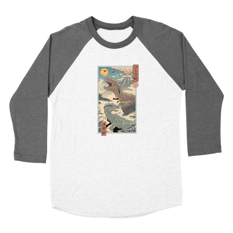 Jurassic Ukiyo-e 2 Women's Longsleeve T-Shirt by Vincent Trinidad Art