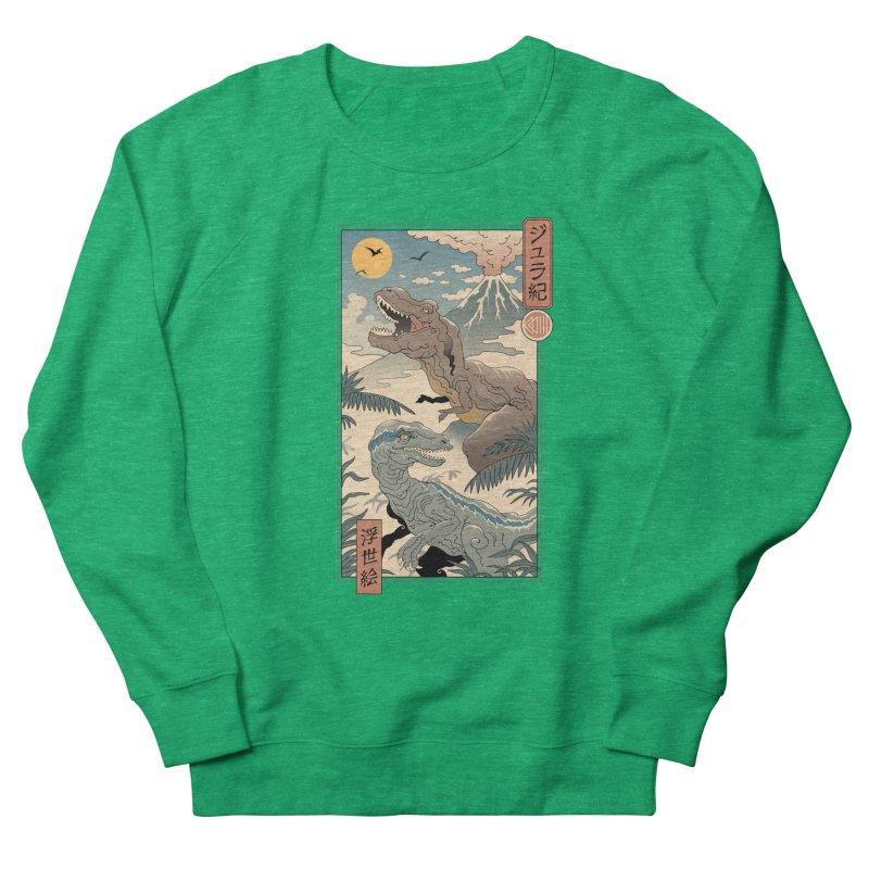 Jurassic Ukiyo-e 2 Women's Sweatshirt by Vincent Trinidad Art