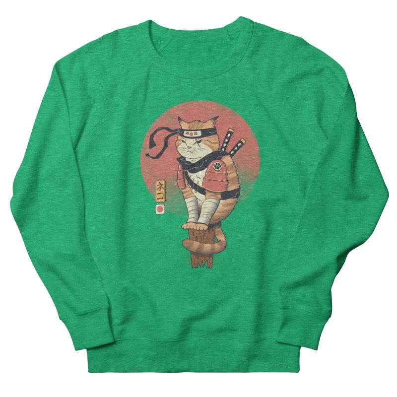 Shinobi Cat Women's Sweatshirt by Vincent Trinidad Art