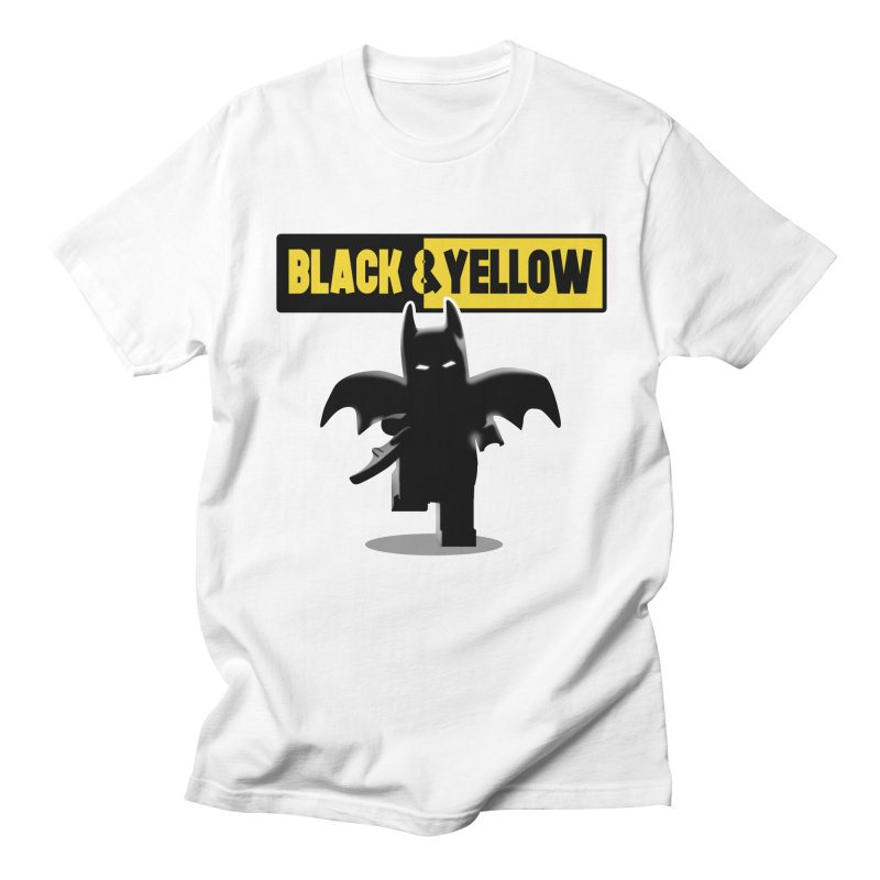 Bat and Yellow Men's T-shirt by vincenttrinidad's Artist Shop