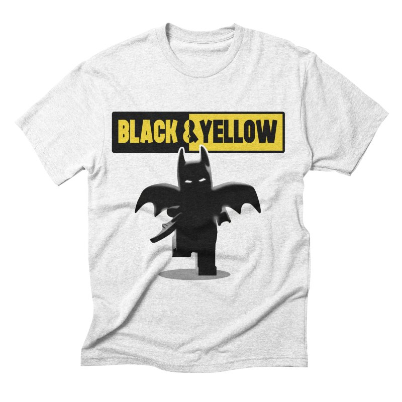 Bat and Yellow Men's Triblend T-shirt by vincenttrinidad's Artist Shop