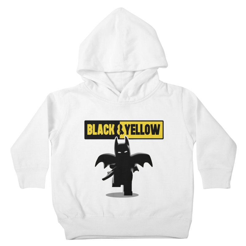 Bat and Yellow Kids Toddler Pullover Hoody by vincenttrinidad's Artist Shop