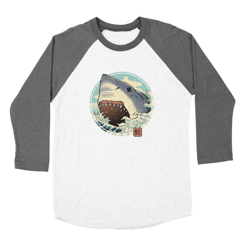 Shark Attack! Women's Longsleeve T-Shirt by Vincent Trinidad Art