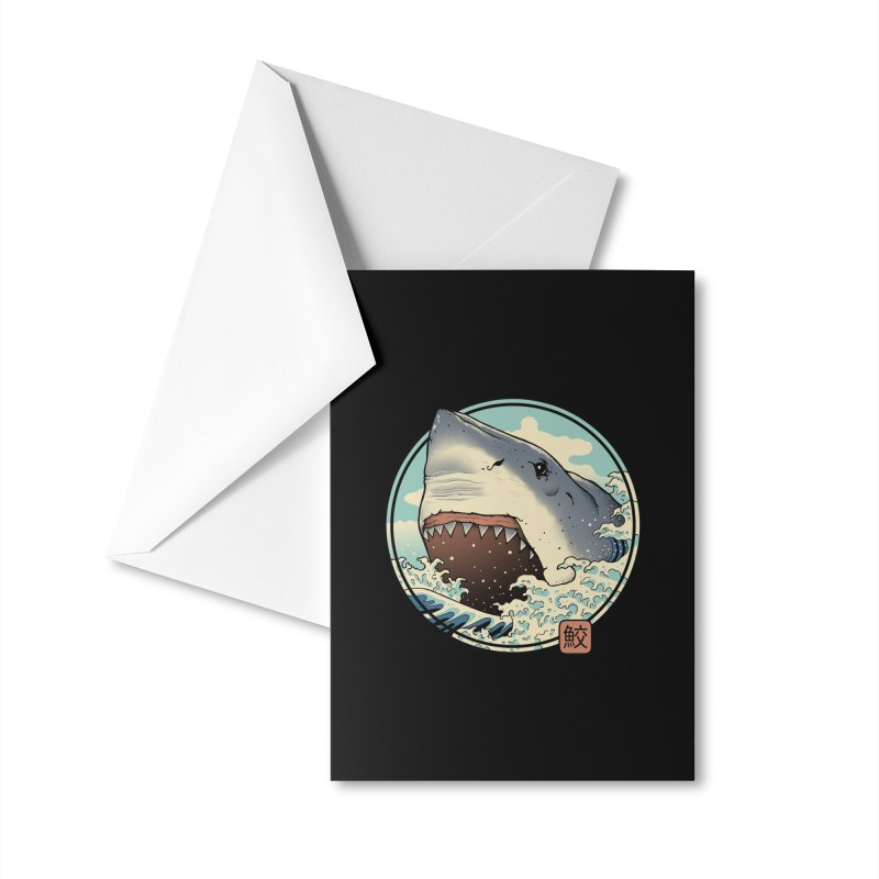 Shark Attack! Accessories Greeting Card by Vincent Trinidad Art