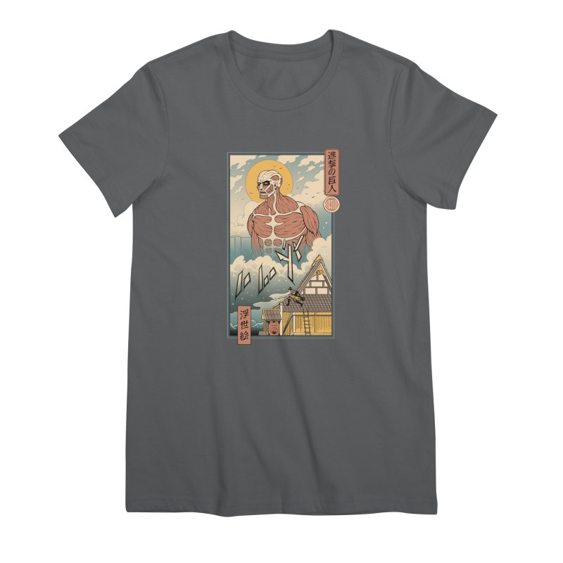 Titan In Edo Women's T-Shirt by Vincent Trinidad Art