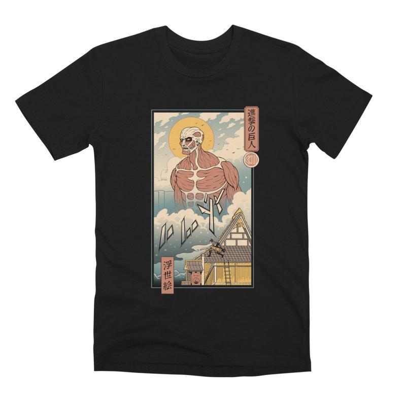 Titan In Edo Men's T-Shirt by Vincent Trinidad Art