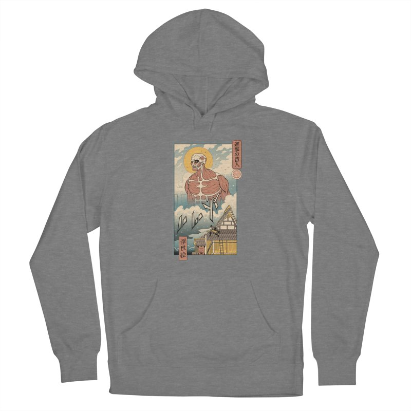 Titan In Edo Women's Pullover Hoody by Vincent Trinidad Art