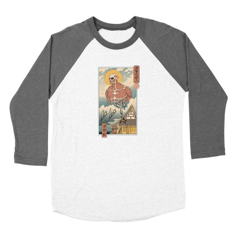 Titan In Edo Women's Longsleeve T-Shirt by Vincent Trinidad Art