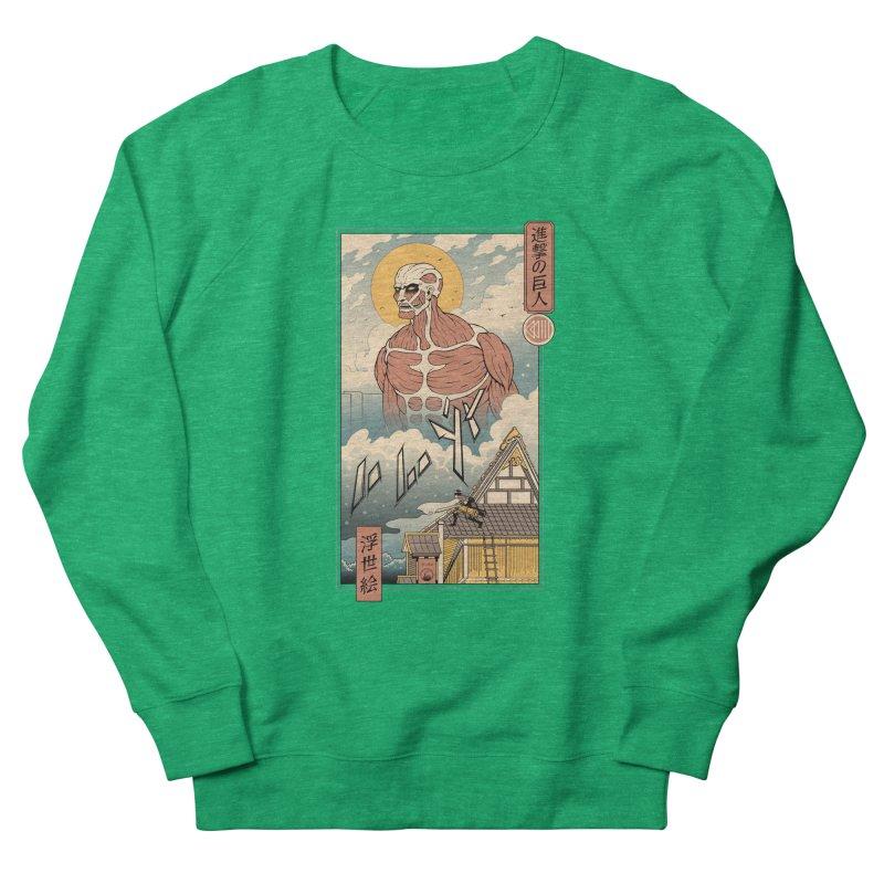 Titan In Edo Women's Sweatshirt by Vincent Trinidad Art