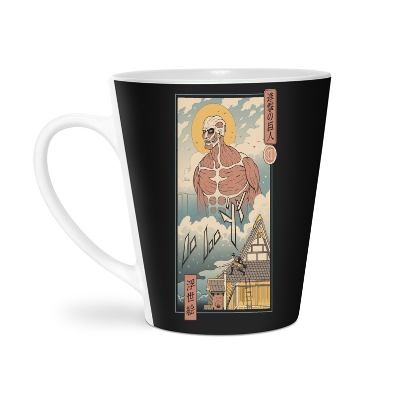 Titan In Edo Accessories Mug by Vincent Trinidad Art