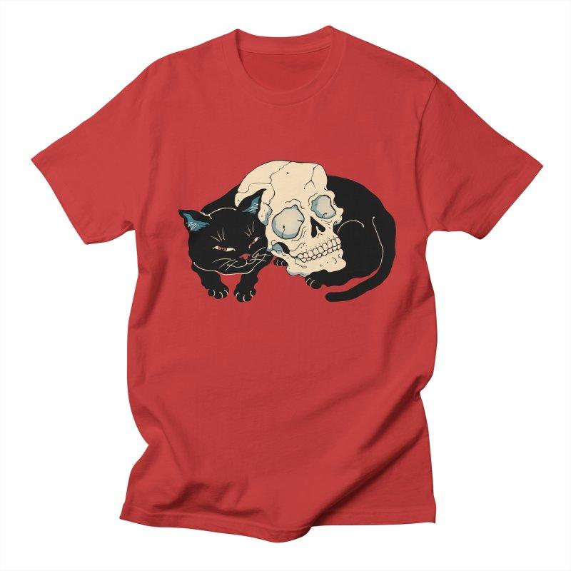 Neko Skull Men's T-Shirt by Vincent Trinidad Art