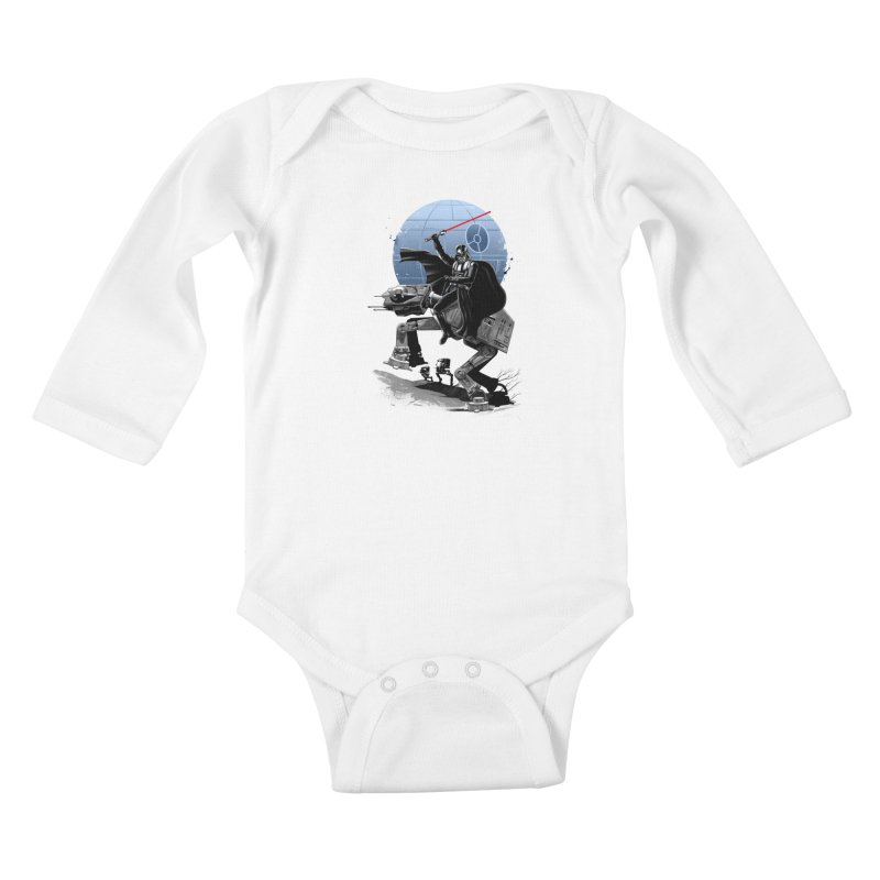 Crossing the Dark Path Kids Baby Longsleeve Bodysuit by vincenttrinidad's Artist Shop