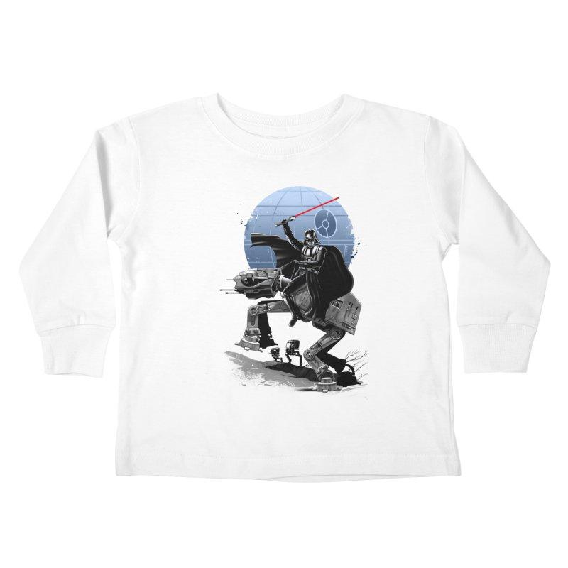 Crossing the Dark Path Kids Toddler Longsleeve T-Shirt by vincenttrinidad's Artist Shop
