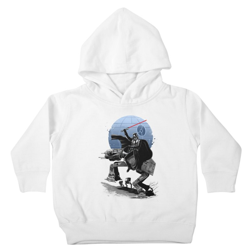Crossing the Dark Path Kids Toddler Pullover Hoody by vincenttrinidad's Artist Shop