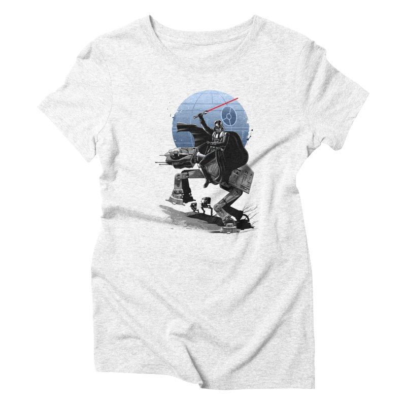 Crossing the Dark Path Women's Triblend T-shirt by vincenttrinidad's Artist Shop
